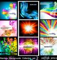 high tech glossy backgrounds vector image vector image