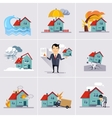 Home and House Insurance vector image