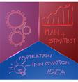 idea concepts vector image vector image