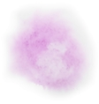 Purple watercolor spot vector image
