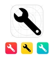 Repair Wrench icon vector image vector image