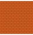 Russet Brick Wall Seamless Pattern vector image vector image