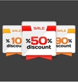 Sale or discount tag vector | Price: 1 Credit (USD $1)