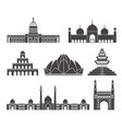 south asia vector image