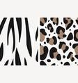 animal print vector image