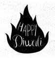 happy diwali celebration banner vector image