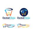 Dental Dentist Logo vector image
