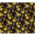 Flowers pattern background vector image vector image