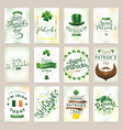 happy saint patricks day vector image vector image