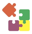 jigsaw puzzle pieces for multiple uses vector image vector image