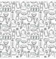 milk product seamless pattern vector image vector image