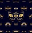 new pattern 0213 theatrical mask vector image vector image