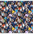 people crowd 01 vector image vector image