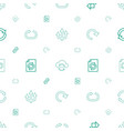 reload icons pattern seamless white background vector image vector image
