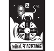 Tarot Card Wheel vector image vector image