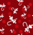 Christmas Candy Canes vector image
