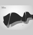 abstract of black and white technology cover vector image vector image