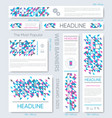 banner templates collection vector image