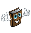 Cartoon book vector image vector image