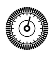 Dial Sign Template with Segmented Level Indicator vector image vector image