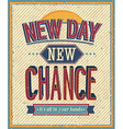 New day vector image vector image