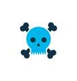 poison icon colored symbol premium quality vector image