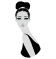 woman fashion vector image vector image