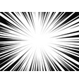 comic book radial lines comics background vector image