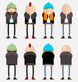 Hipsters vector image