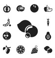 Set of 12 editable cooking icons includes symbols