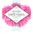 Template card Save the Date vector image vector image