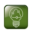 Think green energy vector image vector image