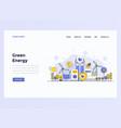 web design flat modern concept - development team vector image