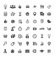 Big Icon Set Travel Business Retail and Sciense vector image