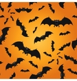 Bat seamless pattern background vector image vector image