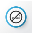 do not smoke icon symbol premium quality isolated vector image vector image