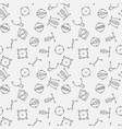 graphic design seamless pattern vector image