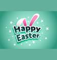 Happy easter celebration joyful card design
