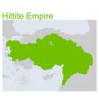map hittite empire