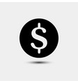money cash in trendy flat style isolated on vector image vector image