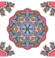 seamless ornament mandala vector image