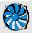 Computer fan vector | Price: 1 Credit (USD $1)