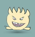 Funny monster Suitable for childrens stories and vector image vector image