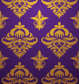gold-purple-pattern vector image