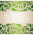 Green vintage wallpaper vector | Price: 1 Credit (USD $1)