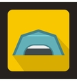 Large garage icon flat style vector image vector image