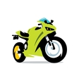 Motorcycle Cartoon vector image vector image