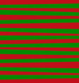 red and green horizontal striped background vector image