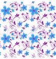 vector flowers vector image vector image
