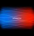abstract glowing lines gradient mesh vector image